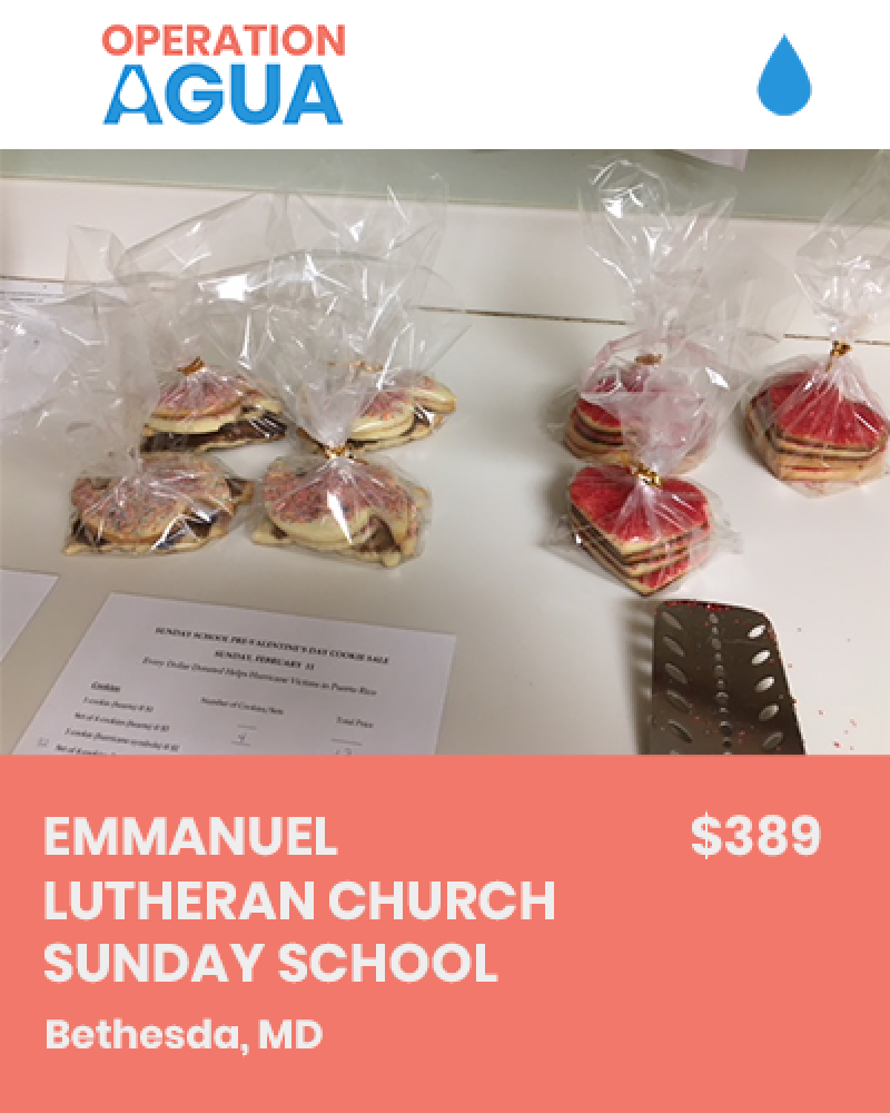 H20 Heroes - Emmanuel Lutheran Church Sunday School