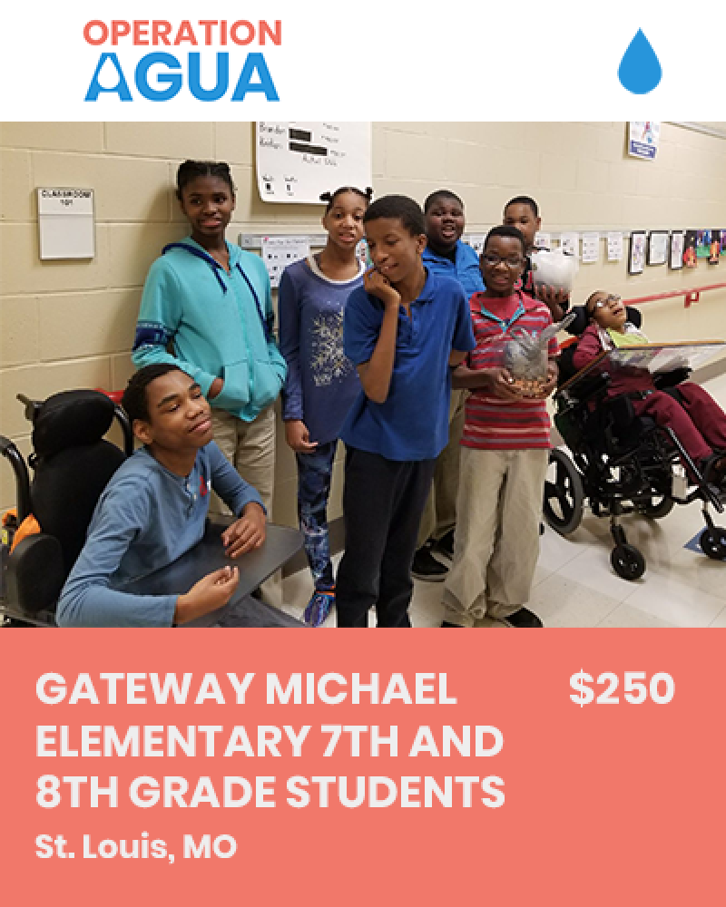 H20 Heroes - Gateway Michael Elementary 7th and 8th Grade Students