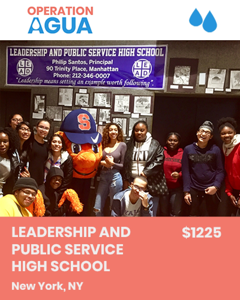 H20 Heroes - Leadership and Public Service High School