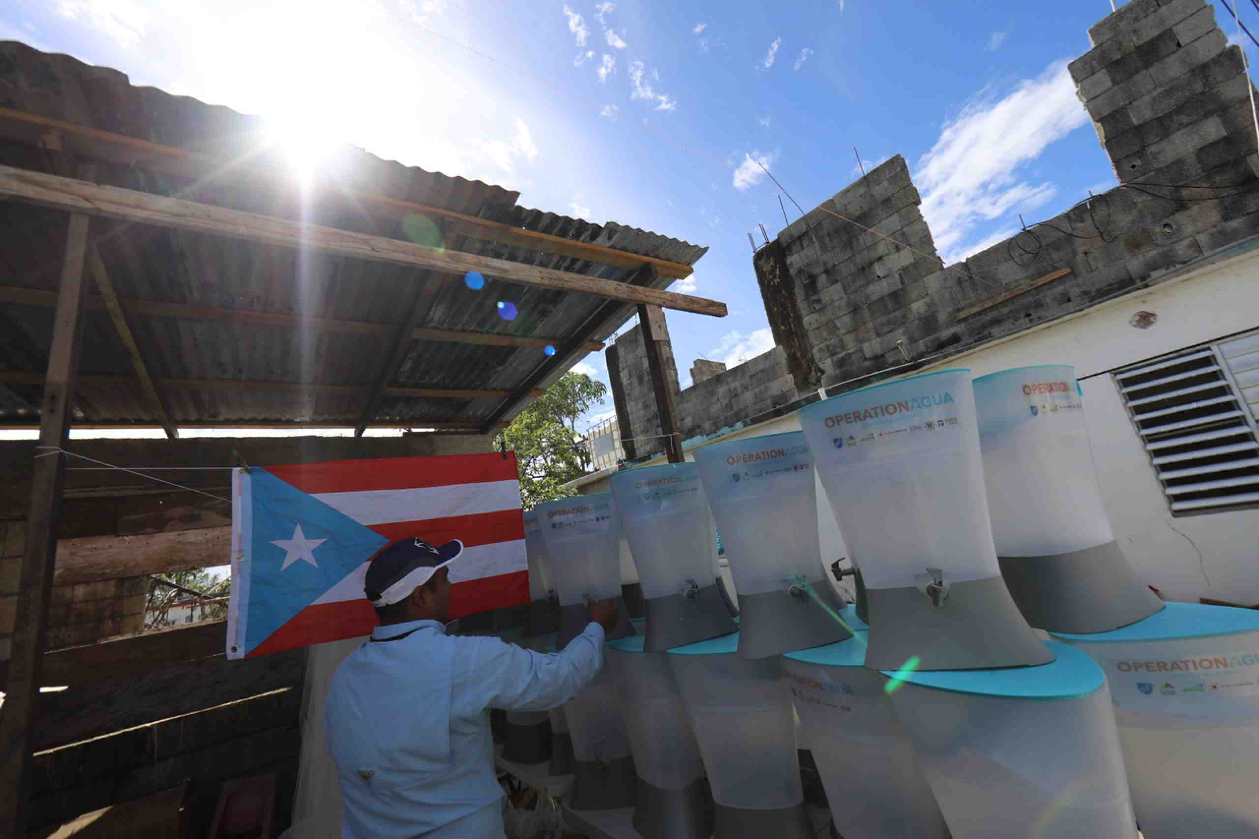 Water filters in Puerto Rico