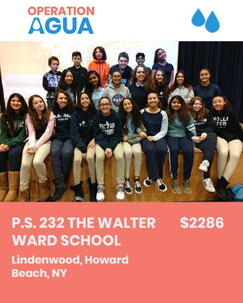 H20 Heroes - P.S. 232 The Walter Ward School