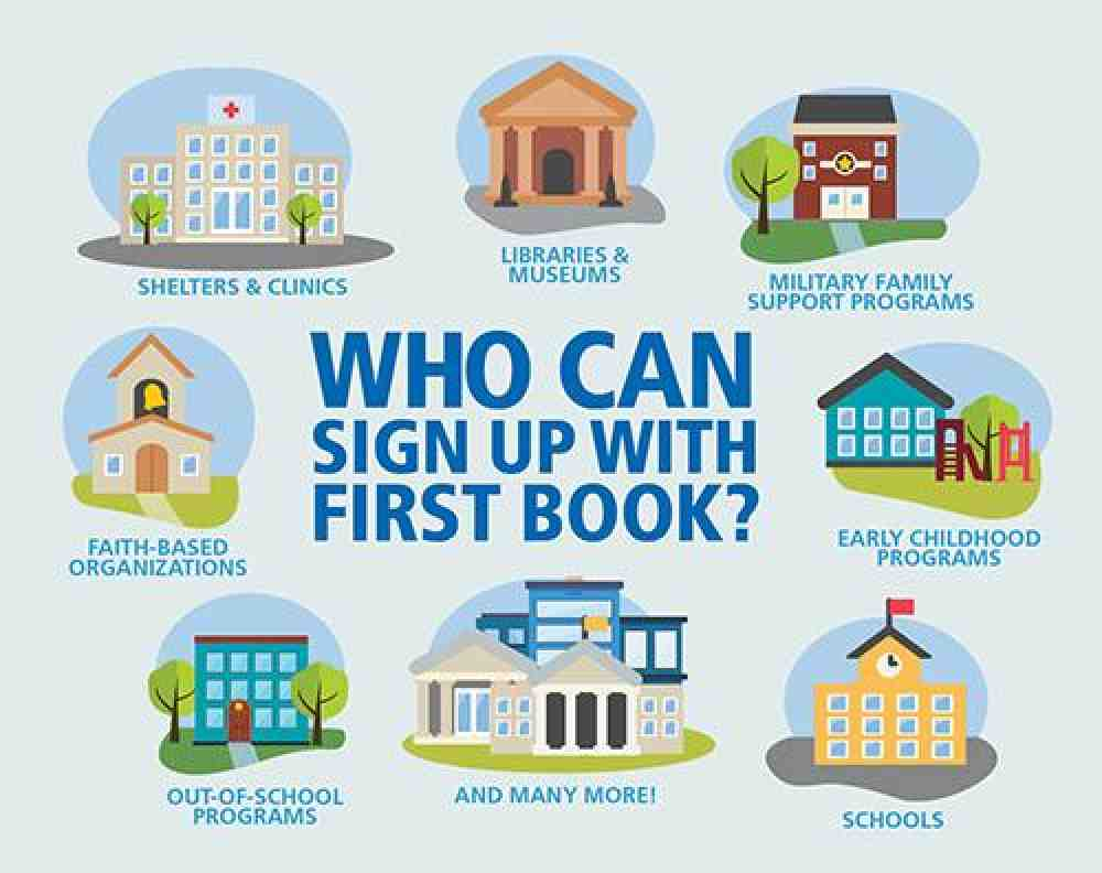 Who can sign up with First Book?
