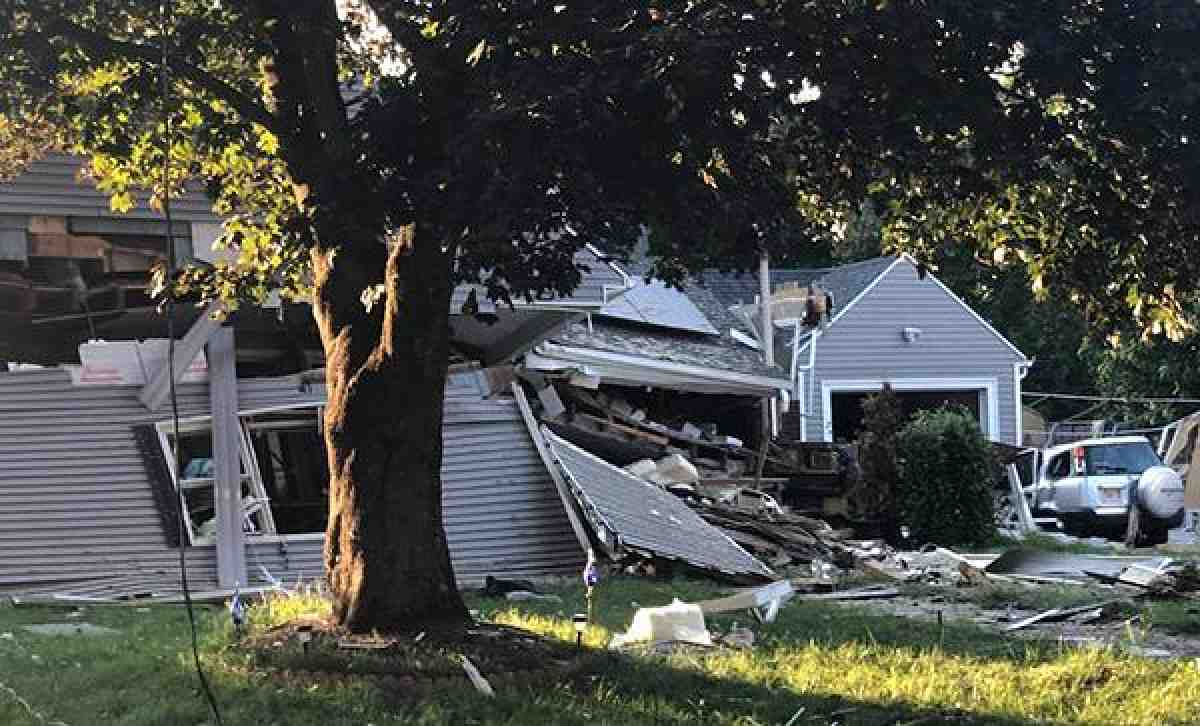 Home in Mass. destroyed after gas explosion