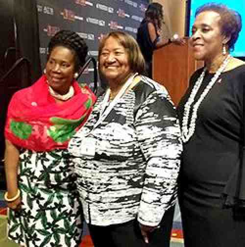 Lorretta Johnson at Congressional Black Caucus Conference