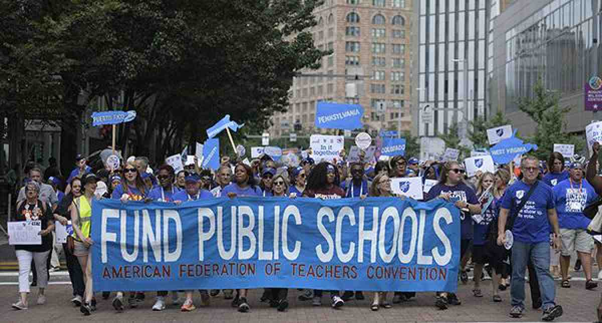 Rally for public school funding