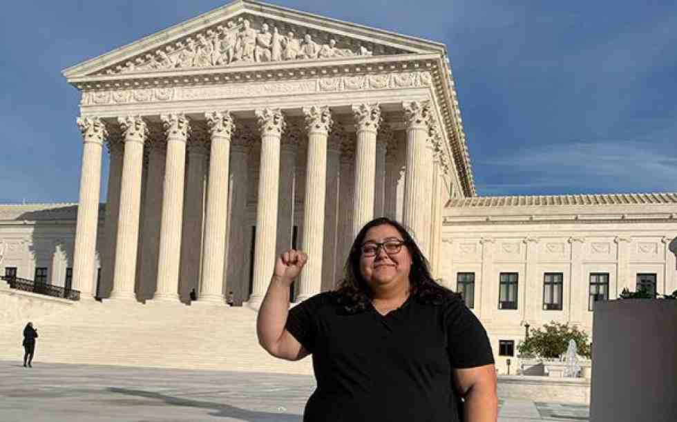 Karen Monday at Supreme Court