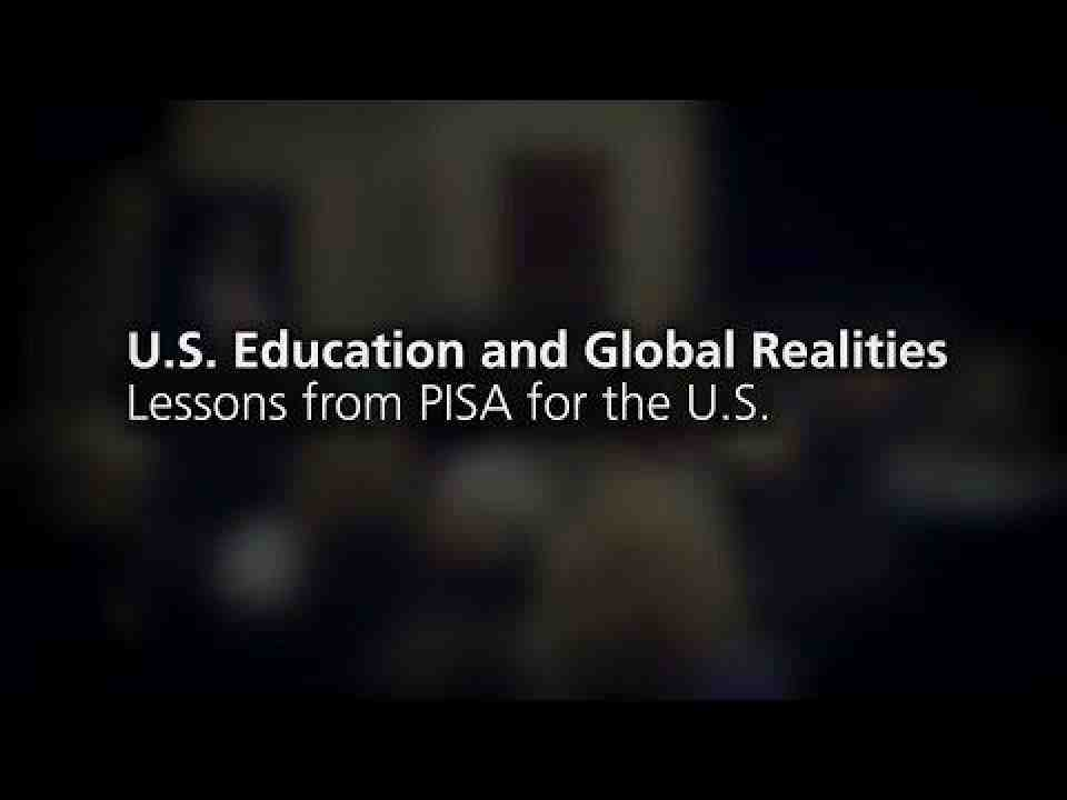 Lessons from PISA for the U.S.