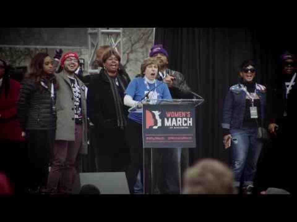 Randi Weingarten Addresses Women's March