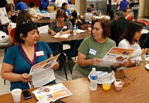 participants at San Antonio event