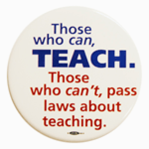 Teach button