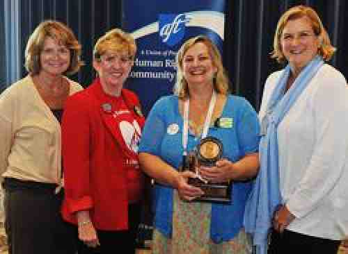 VFNHP leaders and AFT Vice President Owley