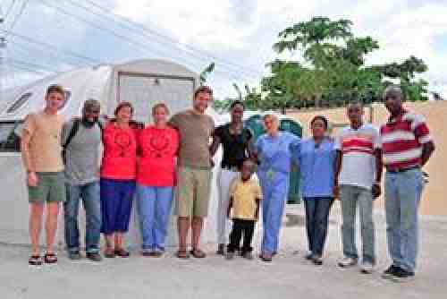 Union-Run Health Clinic in Haiti Open for Business. Photo by Kyle Ferdinand.