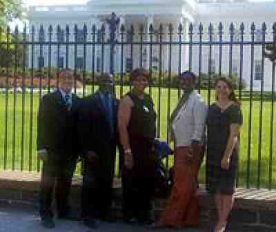 AFT members at White House