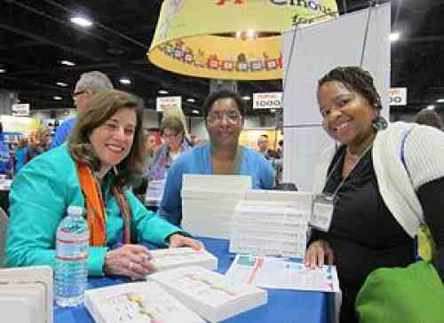 NAEYC exhibit booth