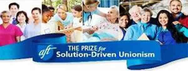 The Prize for Solution-Driven Unionism banner