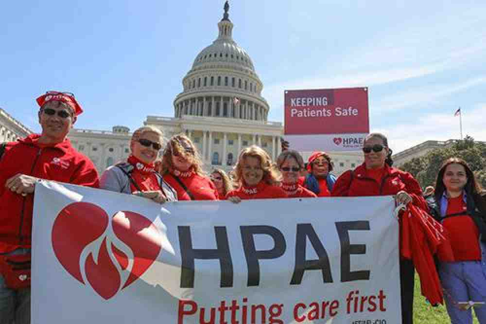 Nurses rally in DC