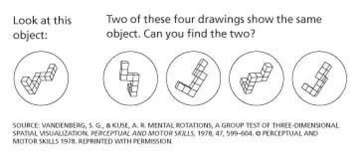 spatial ability test