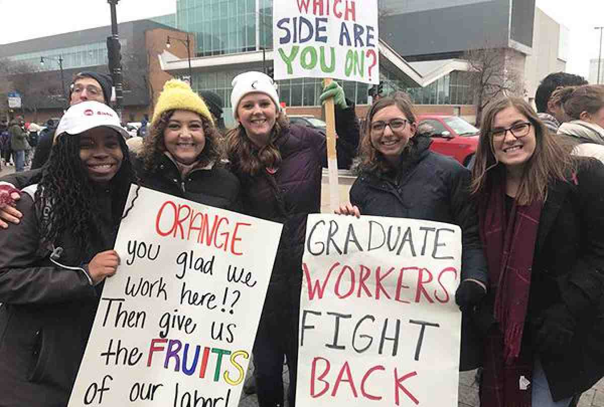 University of Illinois/Chicago grad employees