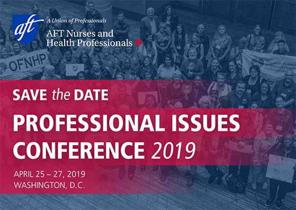 AFT Nurses and Health Professionals Annual Professional