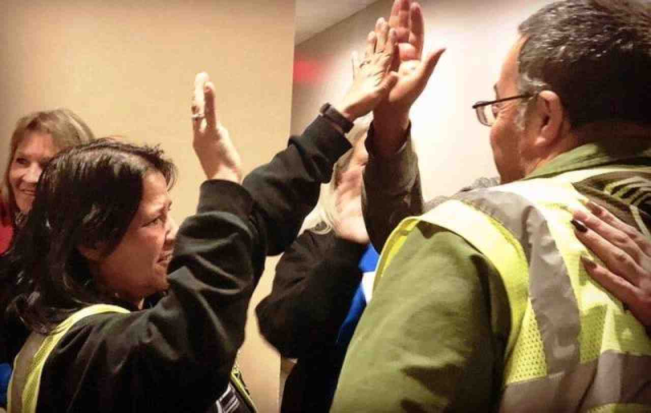 Albuquerque bus drivers celebrate