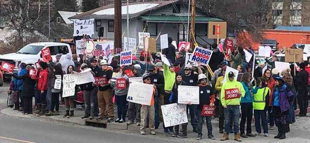 Alaska Picketers