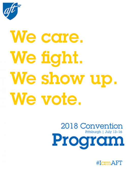 Convention program cover