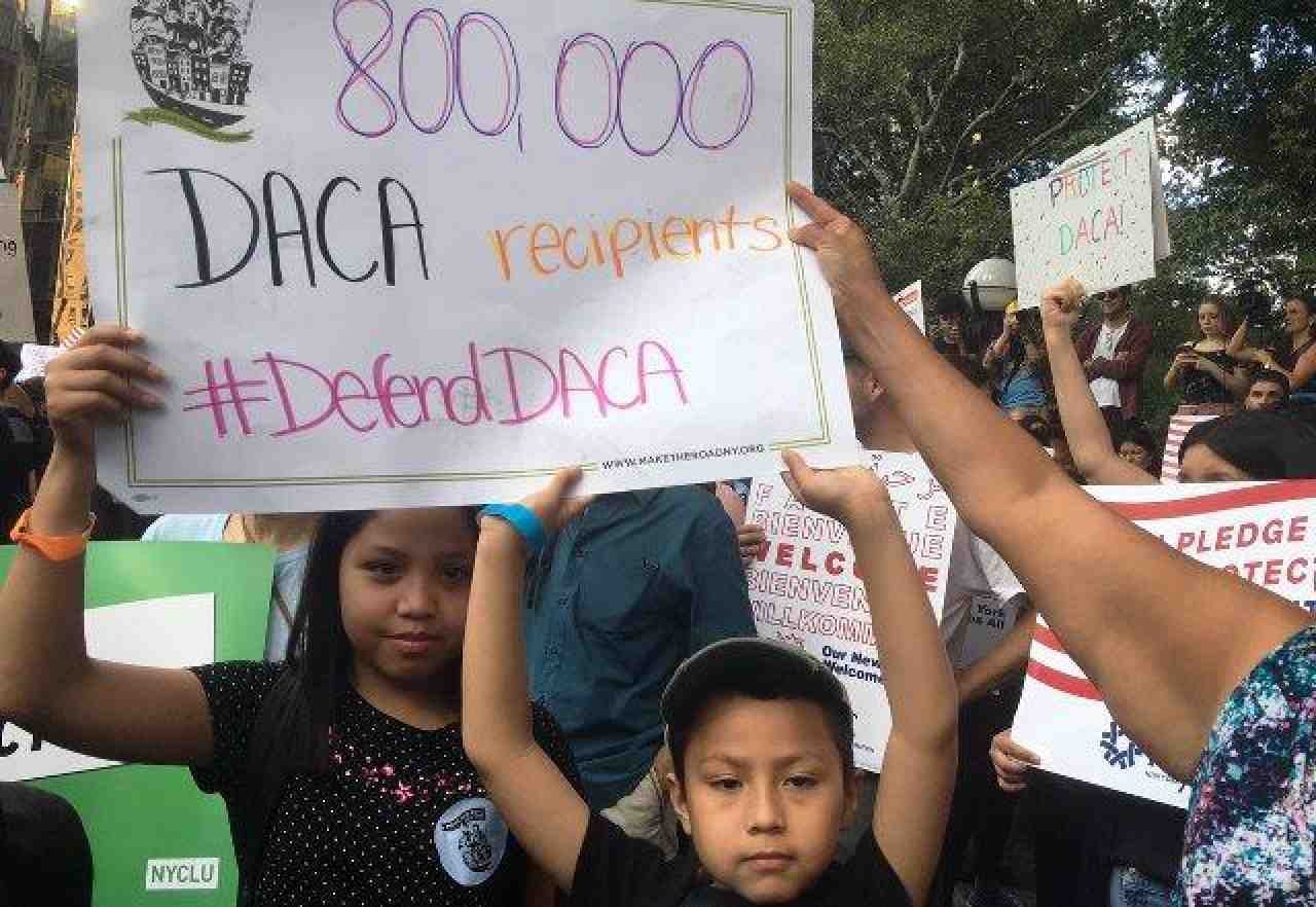 Kids supporting DACA