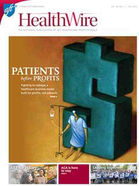 Healthwire Fall 2015 cover