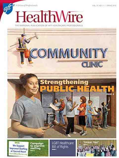 Healthwire - Spring 2015 - Cover