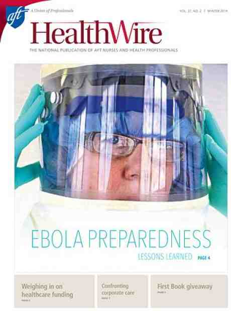 Healthwire - Winter 2014 - Cover