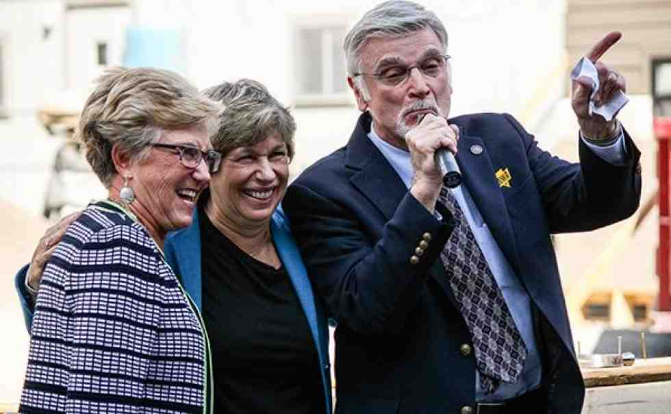 Gayle Manchin, Randi Weingarten and Cecil