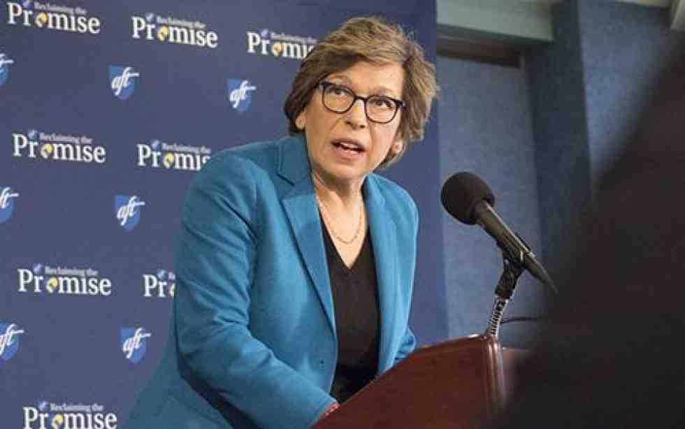 Randi Weingarten at Nat'l Press Club
