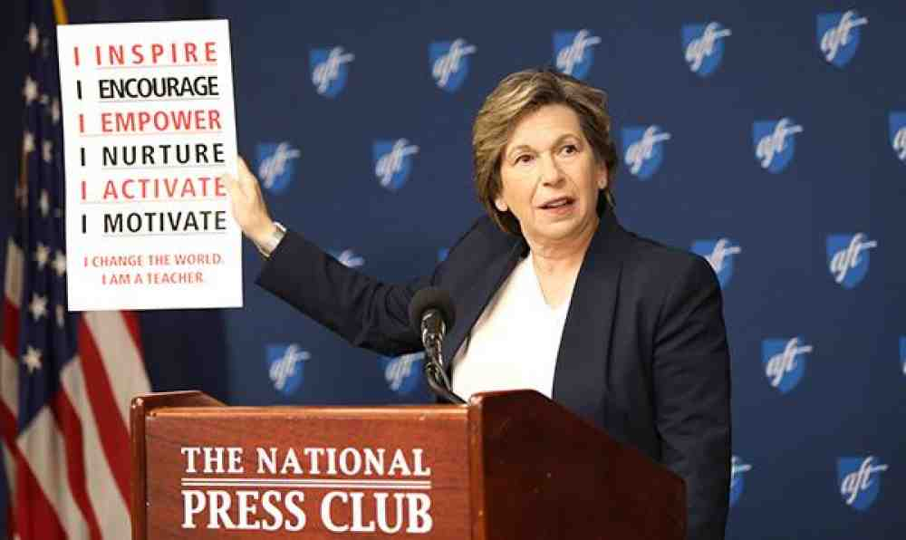 Randi Weingarten at National Press Club