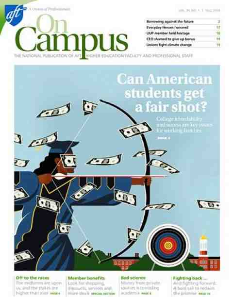 On Campus Fall 2014 cover image