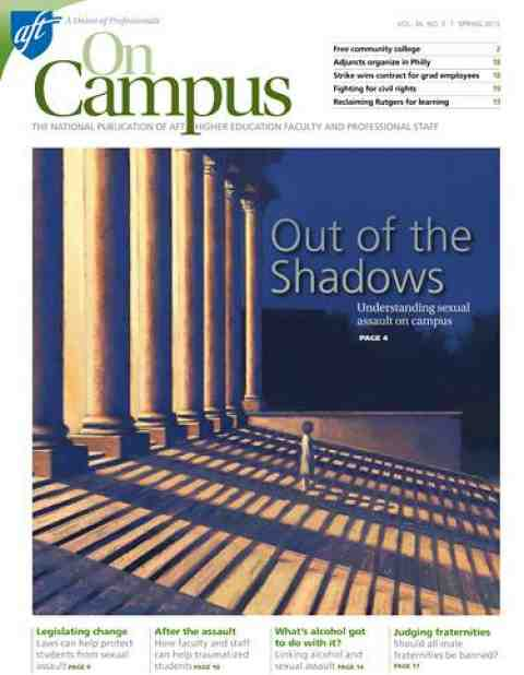 On Campus Spring 2015 cover page