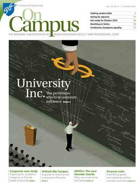 On Campus 2015, cover image
