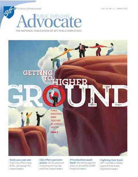 Public Employee Advocate, Spring 2015, Image Cover
