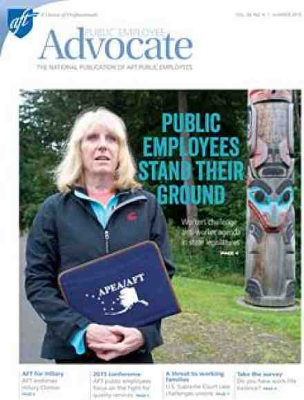 Public Employee Advocate cover, Summer 2015