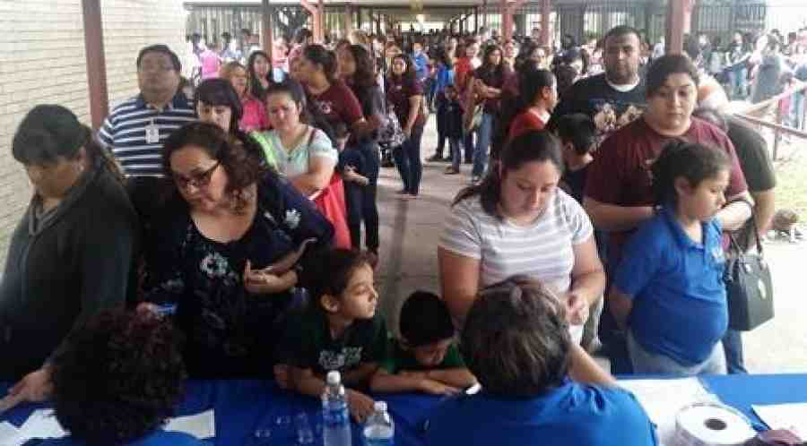 Pharr-San Juan-Alamo book distribution