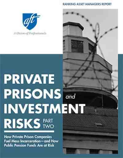 Private Prisons report cover