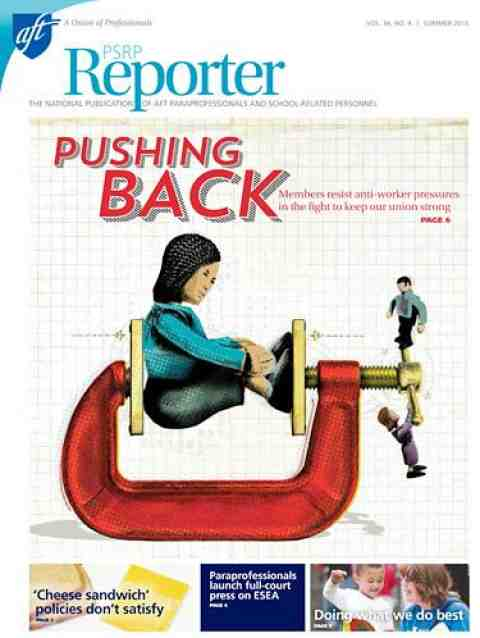 PSRP Reporter Summer 2015 Issue image cover