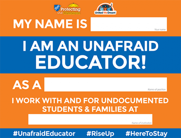 Unafraid Educator