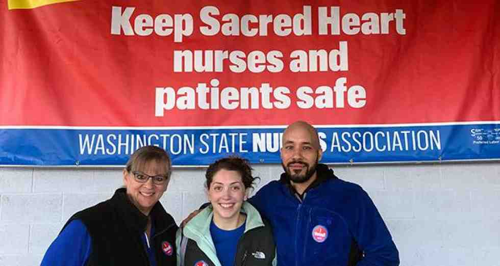 Sacred Heart nurses