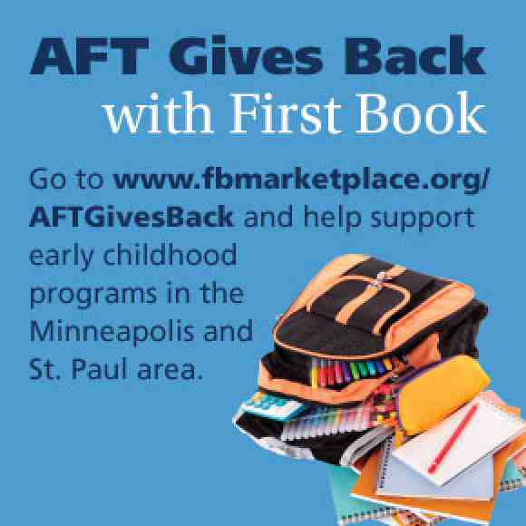 AFT Gives Back