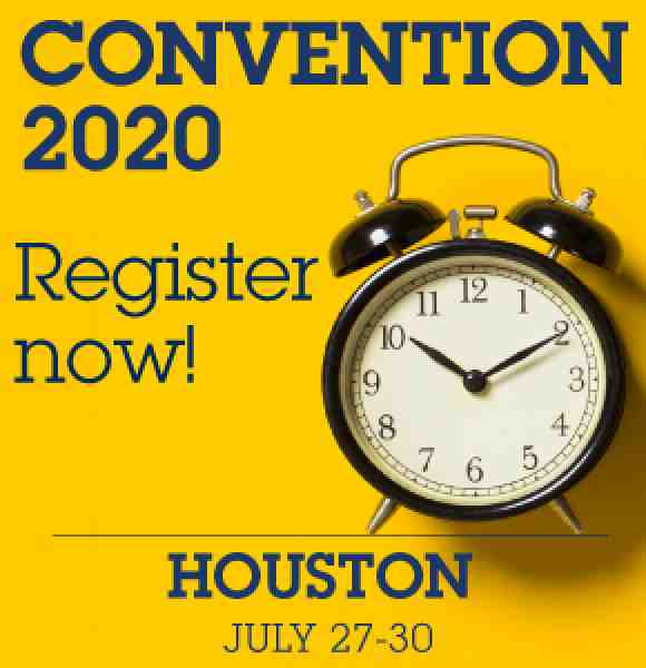 Convention 2020 registration