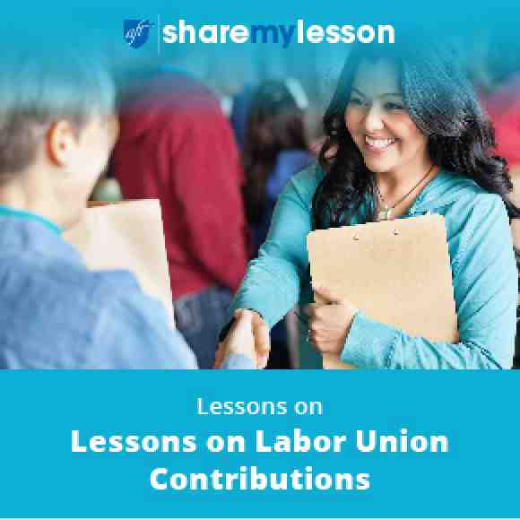 Share My Lesson Labor Day