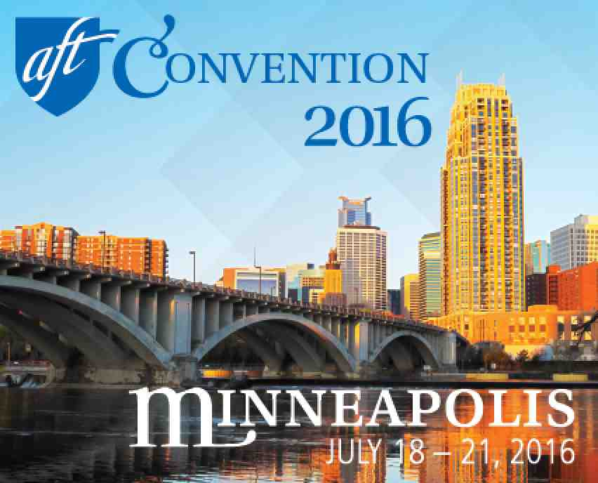 AFT Convention 2016