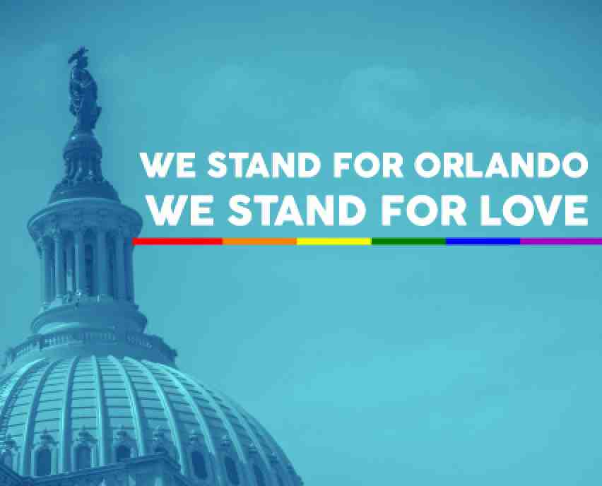 We stand for Orlando