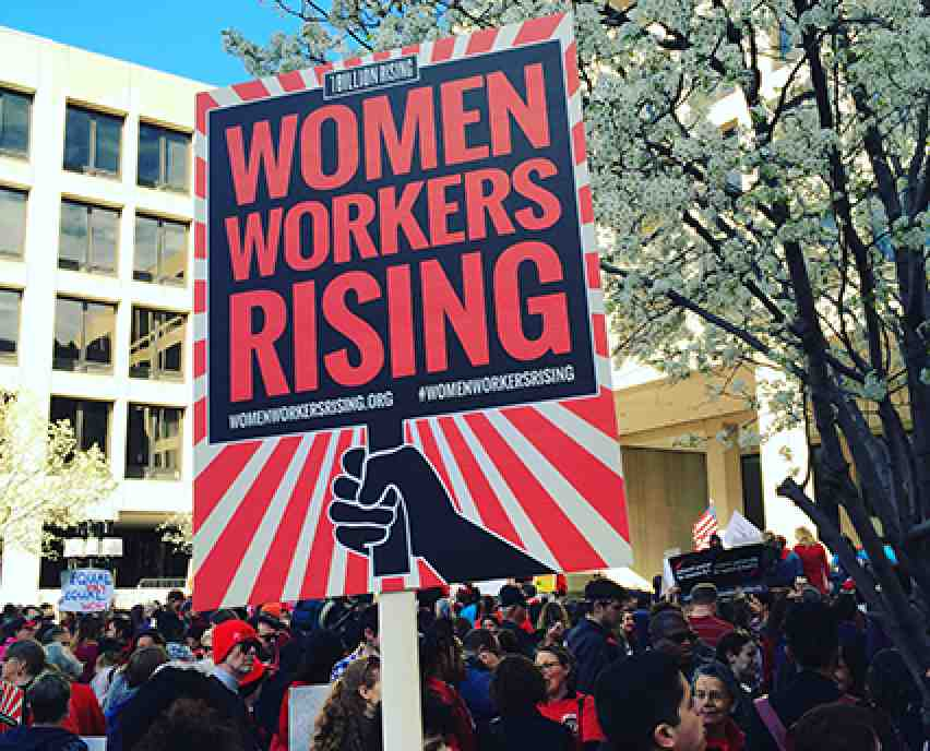 Women workers rising
