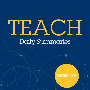 Sign up for TEACH daily